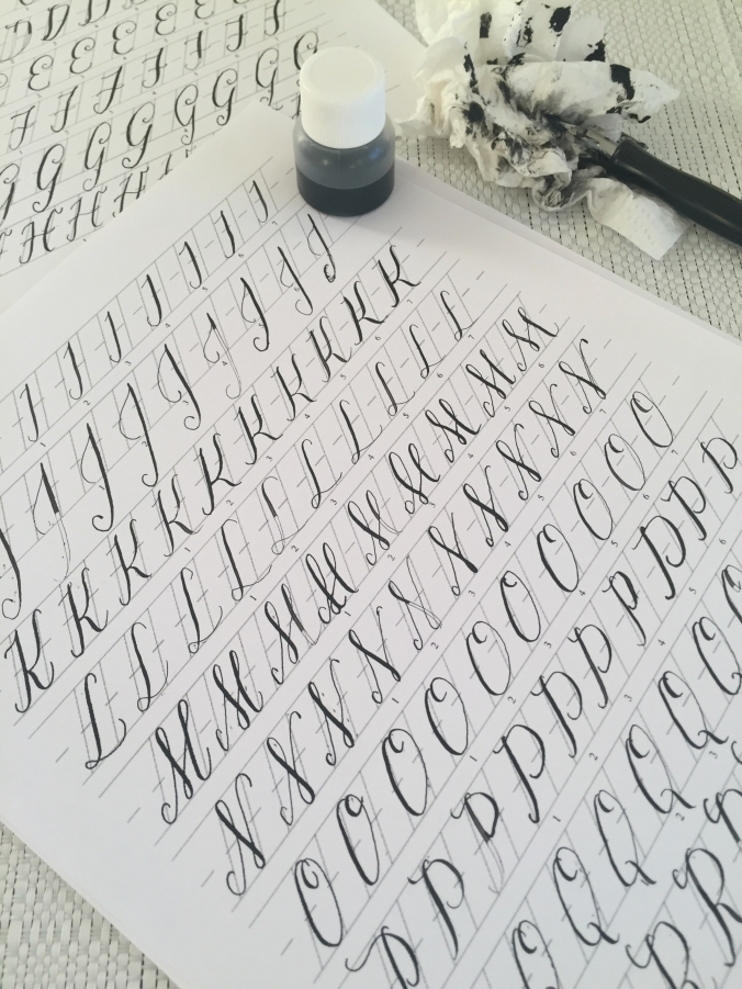 Beginner S Guide To Calligraphy And Hand Lettering Xoxo